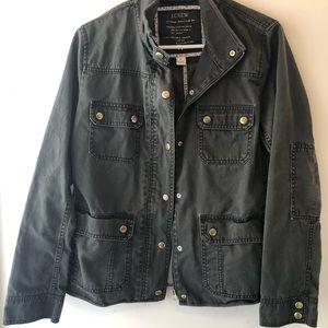 Jcrew relaxed boyfriend field jacket for sale